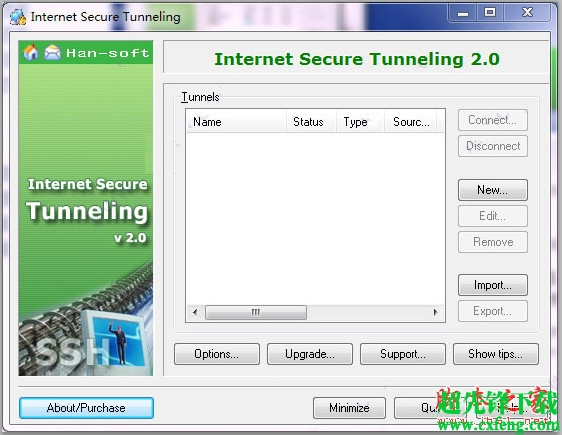网络安全隧道工具(Internet Secure Tunneling) 2.0官方版